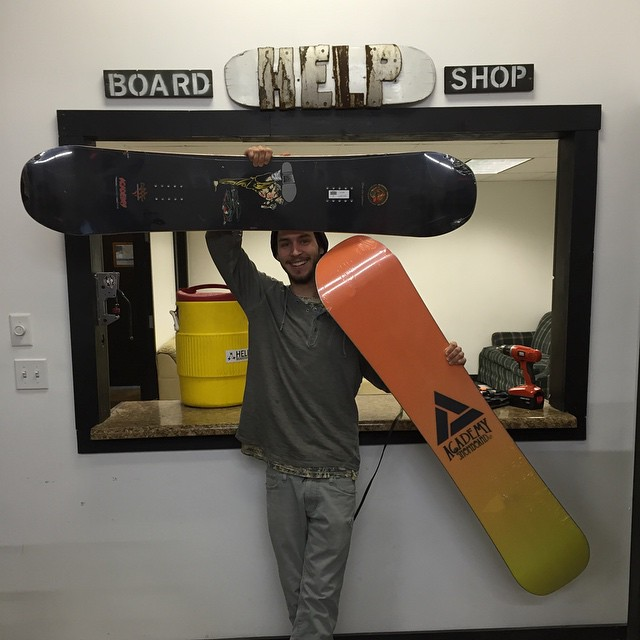 If you need a place to escape the freezing temps and skate, go check out @helpboardshop!  While your there grab a new Acadmey deck to shred the freah snow!! #belikewater #propaganda #rhythm #vodoovancult