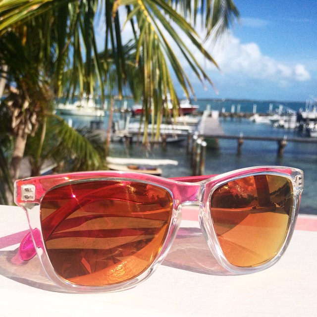 Pink Originals in the sunny tropics. What could be better?