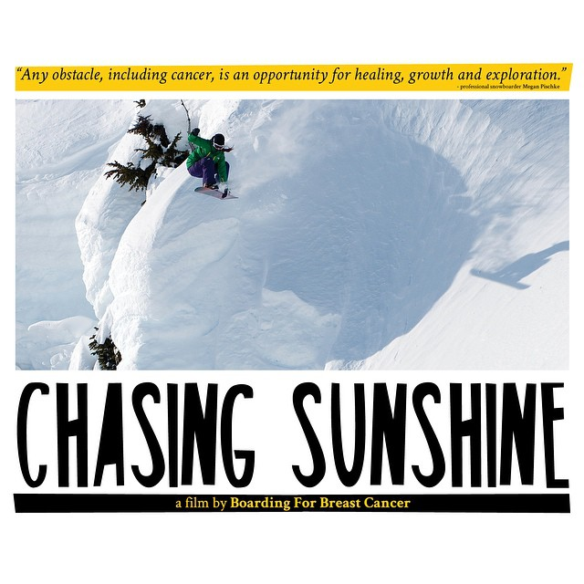 B4BC's Chasing Sunshine documentary premieres at X Games Aspen on January 21st! Join us in at the @WheelerOpera House for a free first look at the Chasing Sunshine film following pro snowboarder and B4BC Ambassador Megan Pischke on her breast cancer...