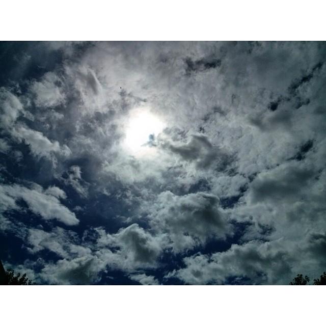 .Amor eterno. Chau tormenta. Hola sol. #sky #cielo #sol #sun #summer #beach #SanBer