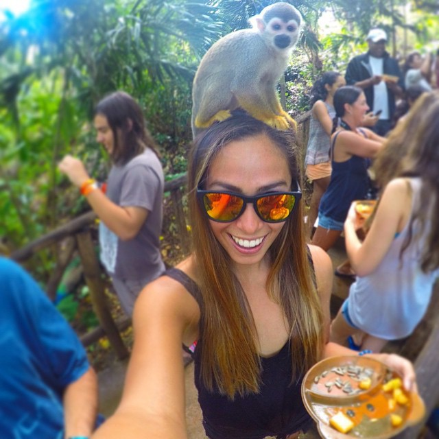 Just monkeying around with @izzyisup #LifesABeach #ThisIsMyBeach #Kameleonz #Monkey #DR #NorthShore #GoPro #Selfie #GoProSelfie #Travel Kameleonz.com