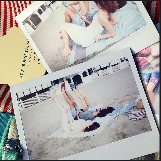 #Paezteam at Garraf #Beach #Barcelona #Paez Polaroids