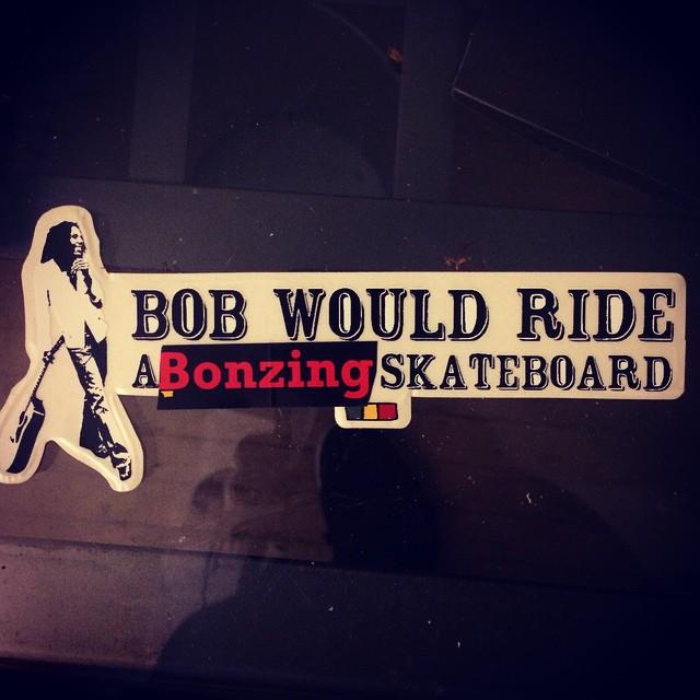Bob would ride a Bonzing skateboard!  #bonzing #bobmarley #skateboarding