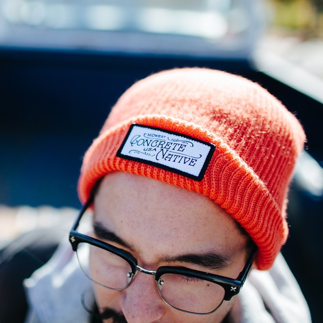 Keep your head warm this winter with the Buckshot Beanie. #polarvortex #concretenative #realshitforrealpeople