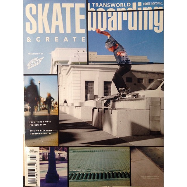 @carlosribeiro91 tall switch back nosegrind on the cover of the new @transworldskate