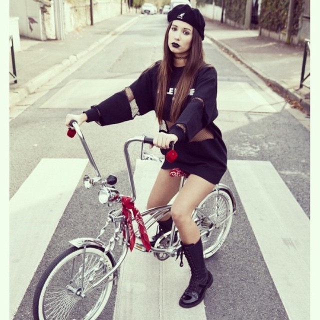 That #kangol tagged Instagram photo of the week is from @fille_de_joie