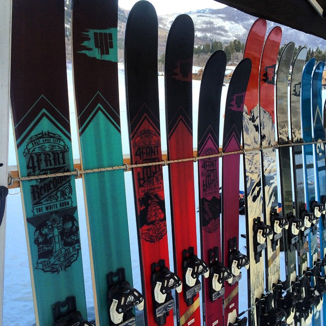 Come on out to @snowbasinresort and demo some 15/16 skis! #riderowned #shapingskiing