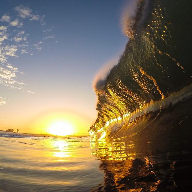 Photo of the Day! @beau_johnston_photography captures some morning glory using the 30/1 Photo Burst Mode.