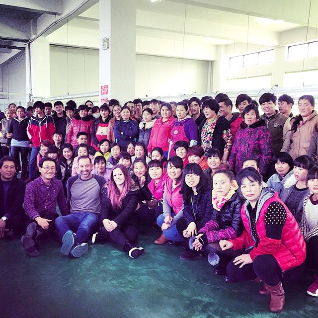 Co-founder @erict4t was on-hand in #China this week visiting T4T factories overseas.