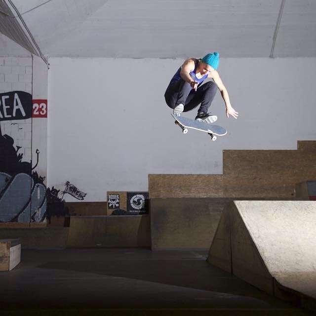 @juliabrueckler is an incredible #skater from #Austria. Just look at the boost on this #kickflip!