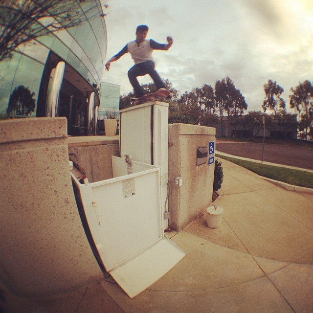 Aldrin Garcia aka @supdrin warming the spot up with a quick #bs5050