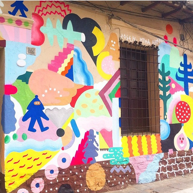 Check it out: mural in Cochabamba, Bolivia by @mina_hamada & @Zosenbandido