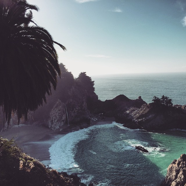 California Postcard #BigSur #McWayFalls #CentralCoast #California #goodmorning #microadventure
