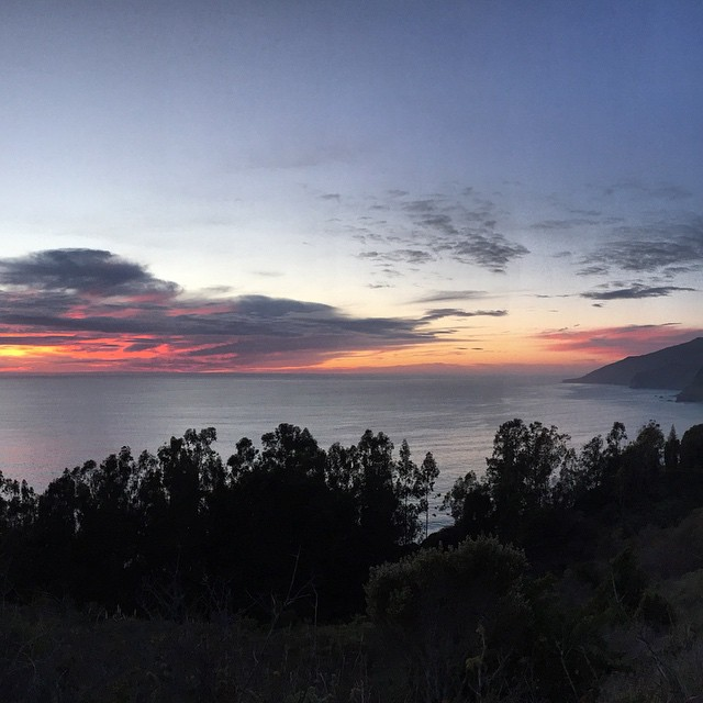 Magical Sunset in Big Sur #sunset #California #CentralCoast #BigSur #sunsetchaser #microadventure #lategram