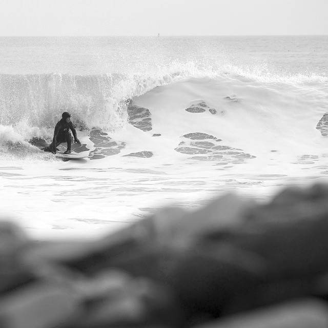Not from today but still cold. #coldwatersurf #newengland #winter #surf #wintersurf #bnw