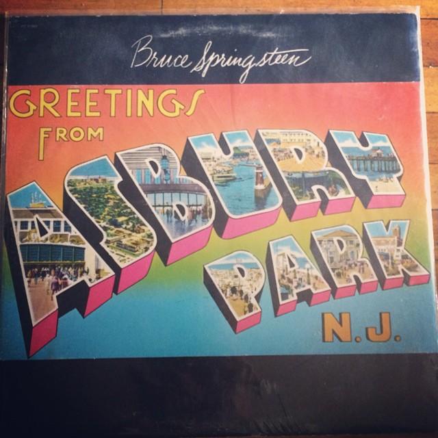 #theboss #brucespringsteen #ashburypark #jersey #classic