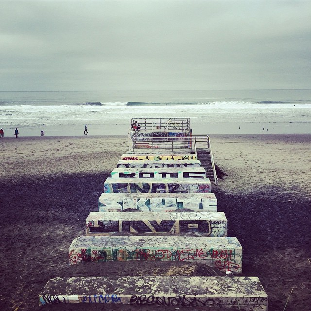 stairway to heaven #awesome #awesomesurfboards #OB #stillemptyonbigdays #surfing#olas#madeincalifornia