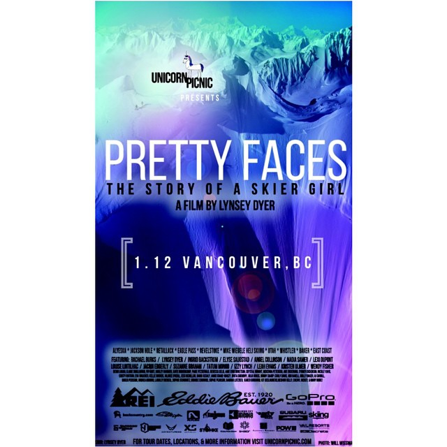 Don't miss the @prettyfacesmovie #Vancouver premiere tomorrow night at the Rio Theatre!! Join us for your chance to win an @xshelmets Freeride helmet! Bring your friend, your daughter, your mom or anyone else that loves to ski or snowboard. This movie...