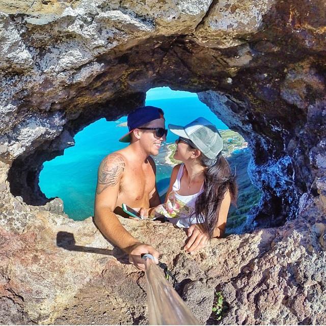 Awesome GoPro selfie with @jishigamiii while sporting the Surf Solo! #LifesABeach #ThisIsMyBeach #Kameleonz #Selfie #SurfExpo #SundaySelfie #GoPro #GoProSelfie Kameleonz.com