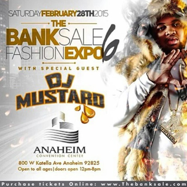 Come see us at @thebanksale February 28, 2015. We will be showcasing our Spring 2015 line which will include one reversible bucket hat, 2 snap backs and 2 5 panels! @djmustard #TheBankSale #BelieveInYourBrand