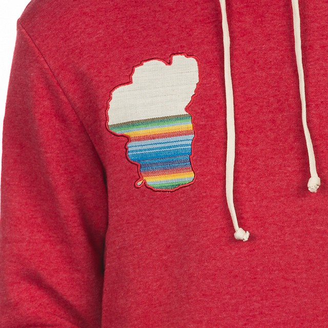 Detail from the [Guatemala] pullover hoodie. Available online. #tahoemade