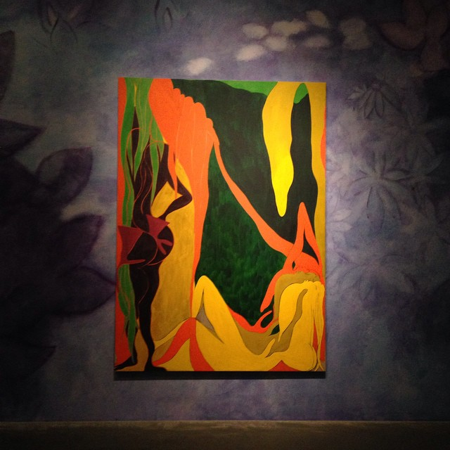 "art + function, Chris Ofili ""Night & Day"" #lovematuse"