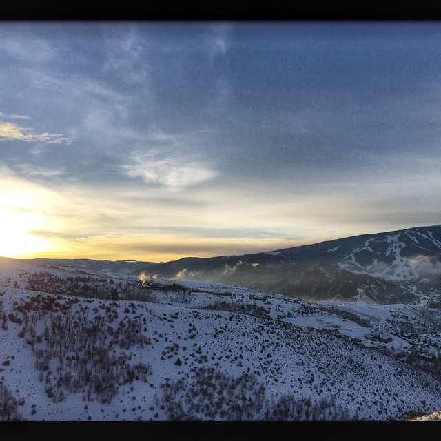 Another absolutely beautiful morning to be living in Colorado! #coloradopics #scenics #beavercreek