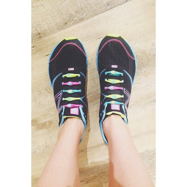A great view from @shhhauna14 stepping things up with our neon rainbow pack. #lacesoutHICKIESin
