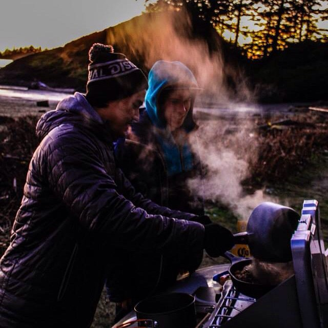 Burritos has to take best post surf meal! // What's your favorite adventure meal? Photo: @matt.burrows.969  Tofino pic 2 of 5  @brendanwa #disidual #distinctindividuals  #brokeandstoked #breathefreshair  #tofino #explorecanada #surf #disiduallivin