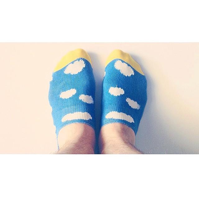 Parcialmente nublado ☁☁☁ #Paez + socks: yes! #Paezshoes #Paezaccessories cloudy  #feet