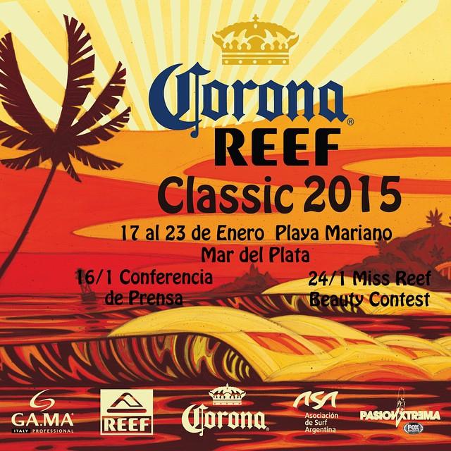 Ya no falta nada: #CoronaReefClassic2015 →Seguilo por nuestras redes #ReefArgentina #CoronaSunsets