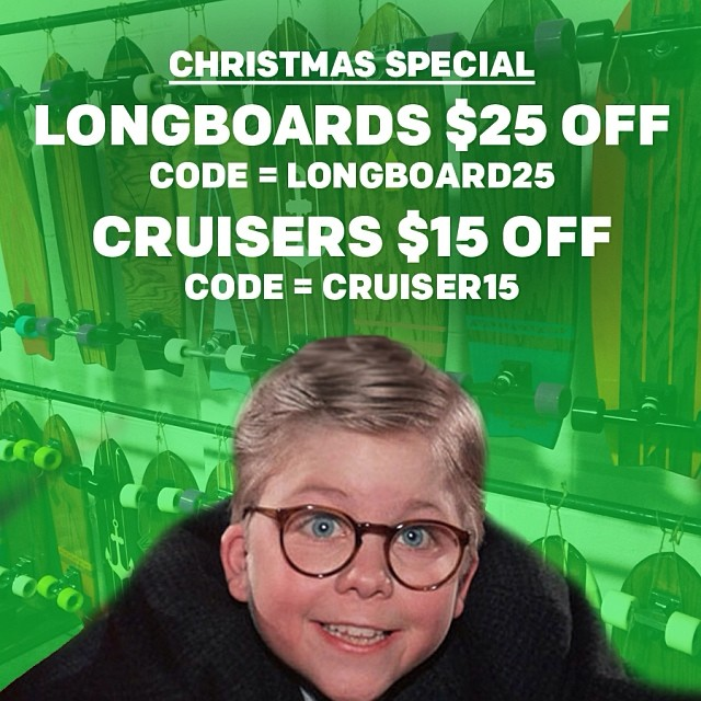 1) Check out our Christmas Special 2) Give an STBCo. Board as a gift 3) make someone's Face look like this!