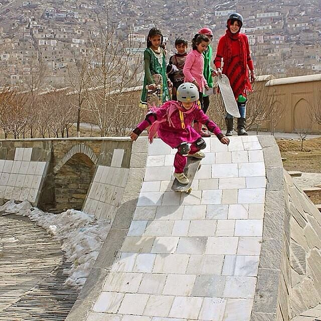@skateistan helps #Afghanistan #celebrate #womensday with a demo of the only sport #women are allowed to perform in public, #skateboarding #thankyouskateboarding for @empoweringwomen