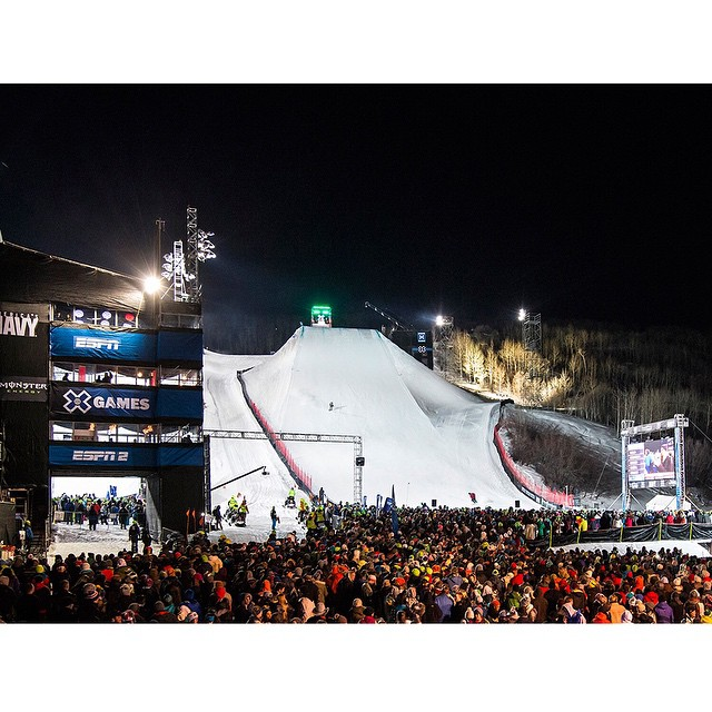 Double tap if you're going to be at #XGames Aspen Jan. 22-25!