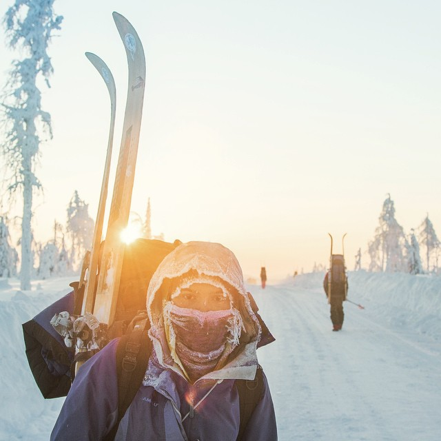 Sun, snow, skis by Oleg Chegodaev in Russia. Join in, take a cold snap. We're #openallwinter @adidasoutdoor