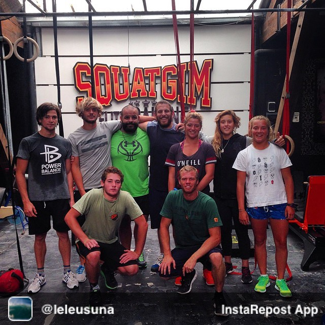 Repost from @leleusuna via @igrepost_app, it's free! Use the @igrepost_app to save, repost Instagram pics and videos, Ultimo dia de training, con el equipo completo. Last day of traning before hawaii.