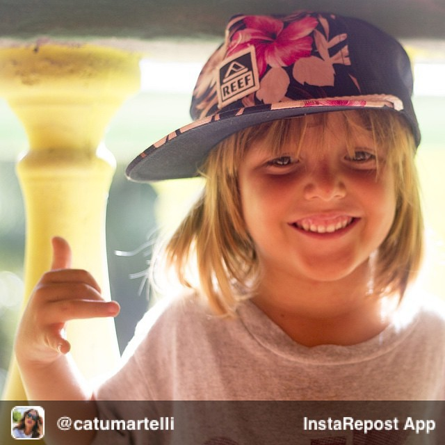 Repost from @catumartelli via @igrepost_app, it's free! Use the @igrepost_app to save, repost Instagram pics and videos, Meet ZION. Pequeño surfer de Santa Teresa.
