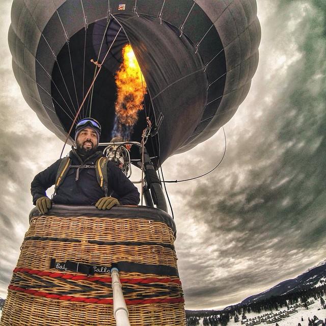 #regram from @mikeescamilla, looking down on @bigskyresort last week in Montana. @worldofadventuresports #gopro #gopole #gopolereach