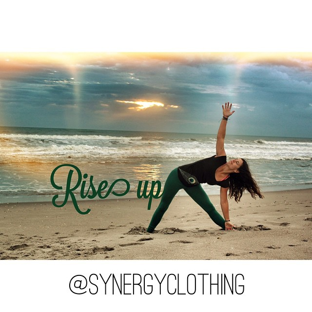 Rise up with the sun☀️ and give thanks for a fresh start❤️... #everydamnday @synergyclothing #synergyorganicclothing #spottedinsynergy