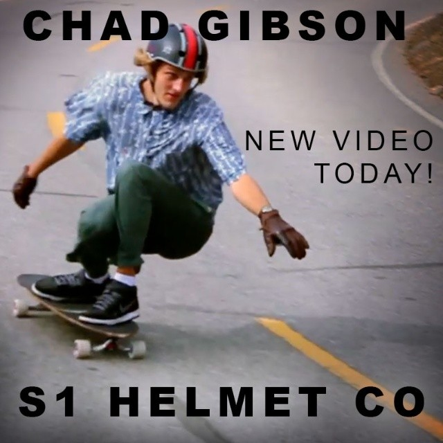 We have a bager new video of @_chadgibson_ from Australia shredding a gnarly SoCal neighborhood. Keep your eyes on our Youtube/Vimeo channel later today! #ThatNewNew #StaySafe #IComeFromTheLandOfChunder #S1LiferHelmet