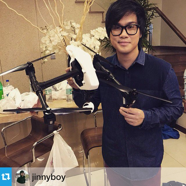 Can't wait to see the footage @jinnyboy  #inspire1 #DJI #DJIMoment #4k #youtube