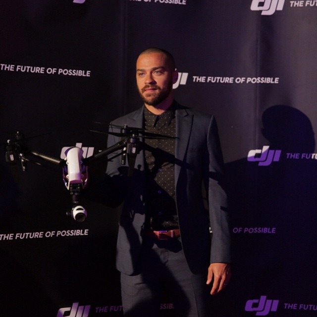This is how we rumble with @ijessewilliams  #inspire1 #4k #DJI #DJICreators #DJIMoments #redcarpet #celebrity