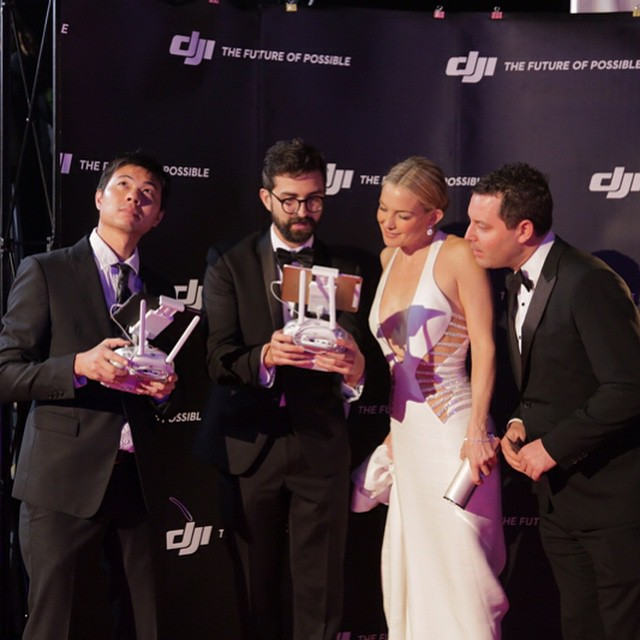 With @katehudson trying to describe #4k freedom with the #inspire1.  #DJI #DJICreators #DJIMoments #celebrity