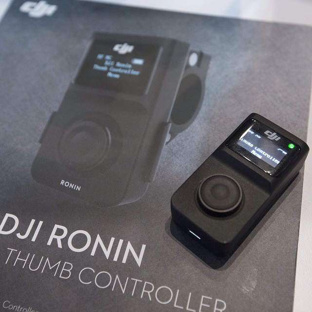 Announced at #CES2015: Wireless thumb control for the #DJI #Ronin  Visit us at CES: LVCC South Hall 2, Booth 25614 #steadi #DJICreator