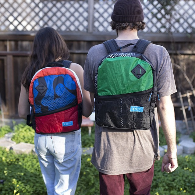 """Lifetime warranty for a lifetime of adventures"" by @sanfranpsycho // Mafia backpacks now in stock in any of their three locations."