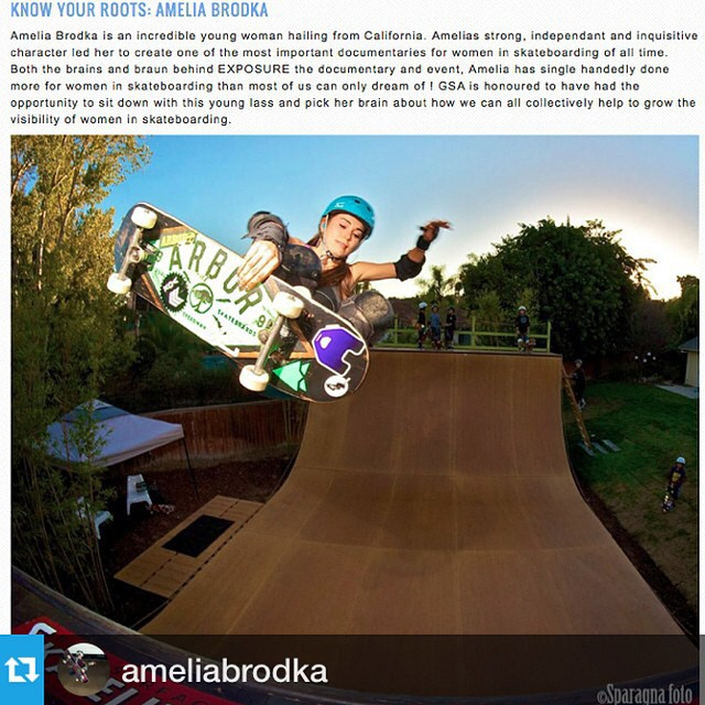 Check out this interview with XS team rider @ameliabrodka on @girlsskateaustralia. Yeah Amelia!!