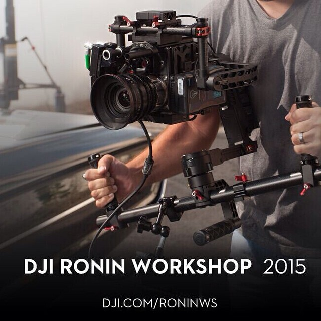 Free Yourself, be the #Ronin warrior with our Ronin Workshop.  Learn more about the 3 modes of operation, get comfortable with innovative technology and meet up with other keen operators just like yourself.  Join today: http://www.dji.com/roninws  #DJI...