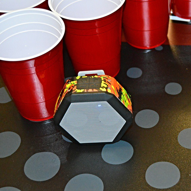 Wednesday night shenanigans #ponganyone #digicamo #custom #boombotix