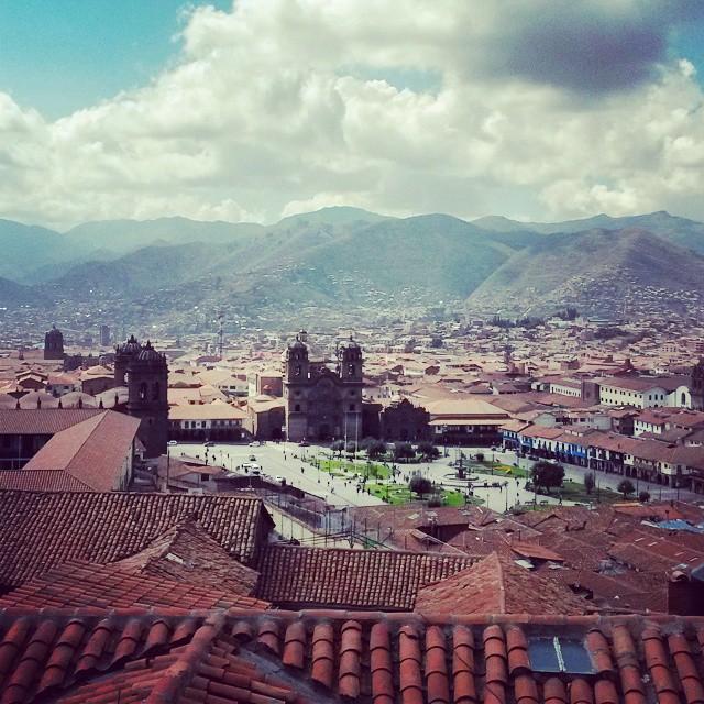 Cusco. Esto es amor a primera vista.