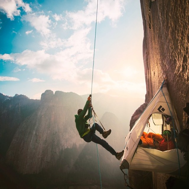 Huge congrats to @tommycaldwell and Kevin Jorgeson for accomplishing the unthinkable fete of free climbing El Capitan in Yosemite National Park. Truly a remarkable accomplishment! #freeclimbing #nextlevel #yosemite #faith #confidence #madskill...